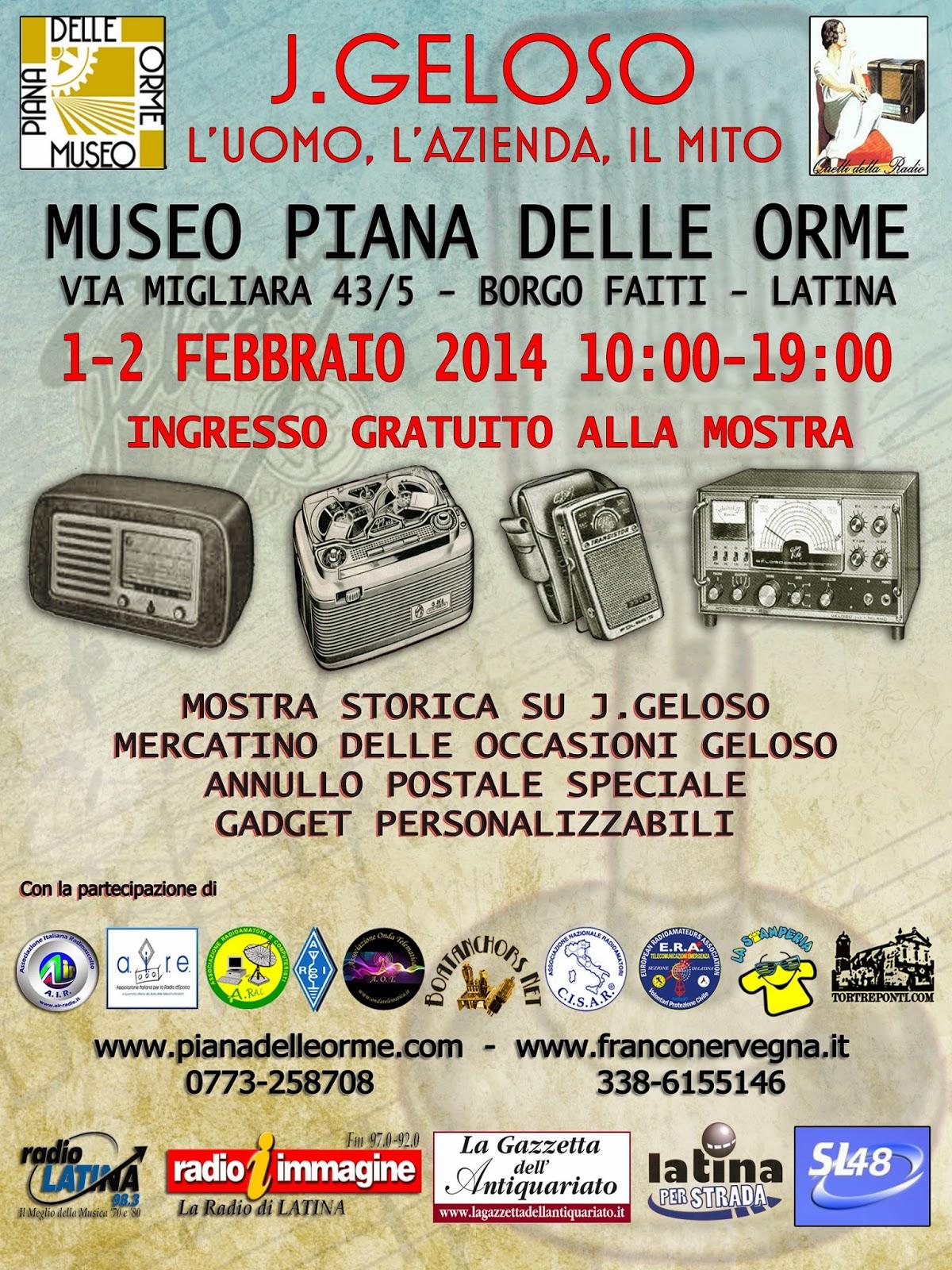 GELOSO – Mostra Storica a Borgo Faiti (LT)