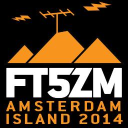 FT5ZM – Amsterdam-Insel 2014