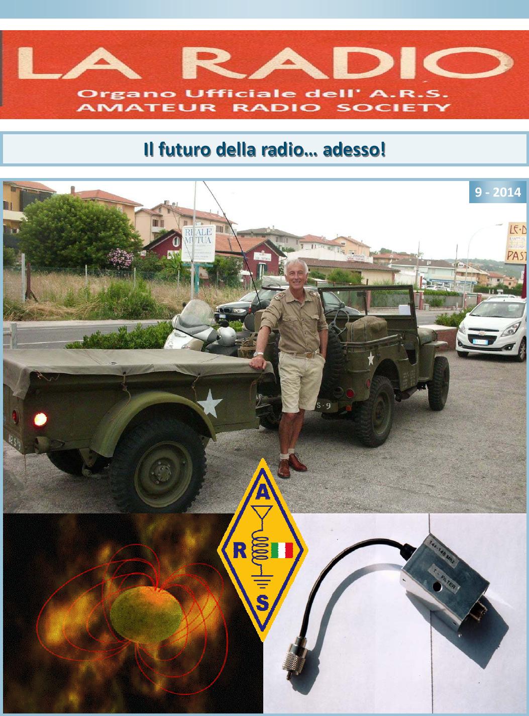 """""""La Radio 9-2014"""" e on-line"""