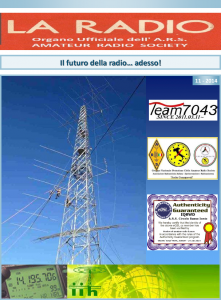 Première page LA RADIO 11-2014