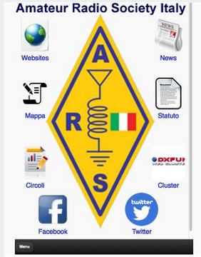 App Amateur Radio Society per Android