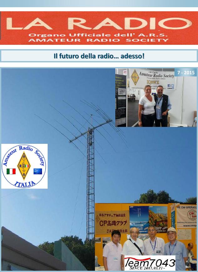 The Radio 7-2015 E em linha