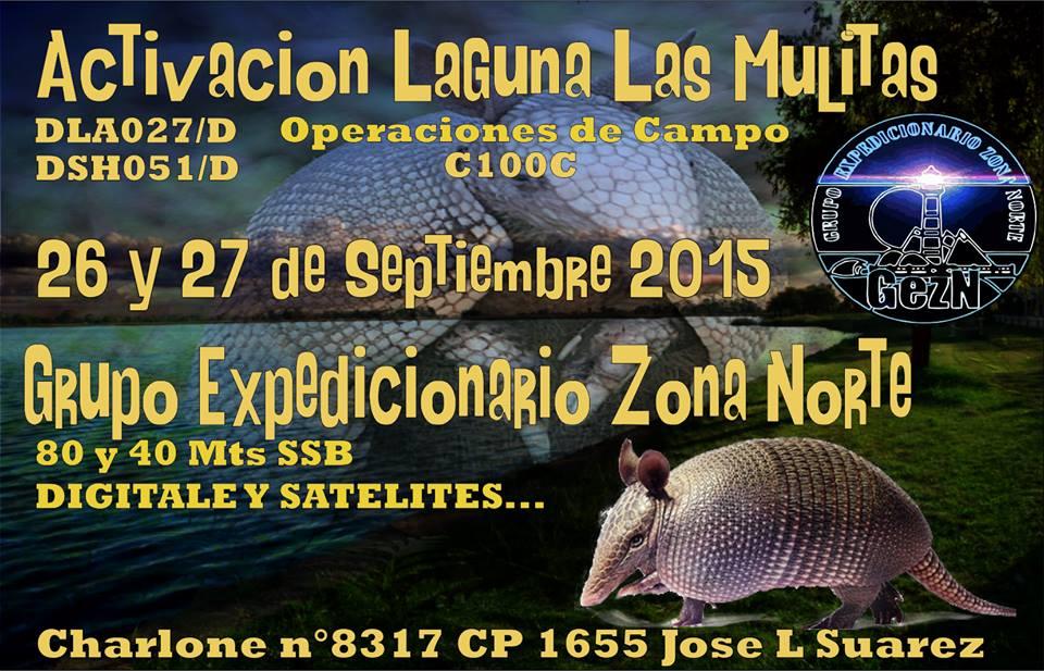 Attivazione Laguna Las Mulitas