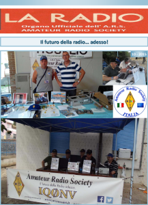 Prima pagina LA RADIO 10-2015