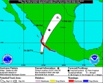 Hurricane Patricia heads for Mexico's Pacific Coast