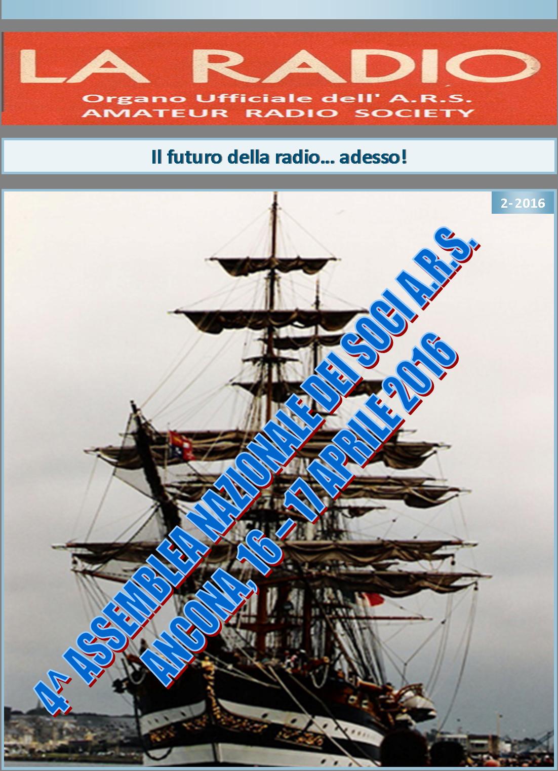 Prima pagina LA RADIO 2-2016