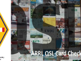 ARRL QSL Card Checking by A.R.S. Itália