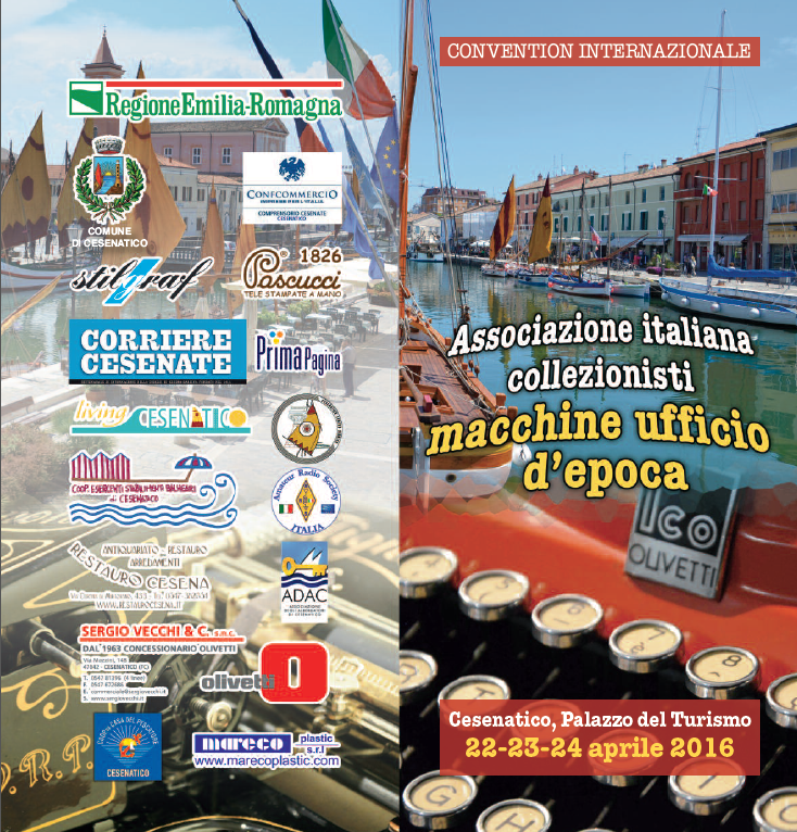 Cesenatico Playbill