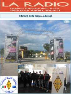 Première page LA RADIO 6-2016