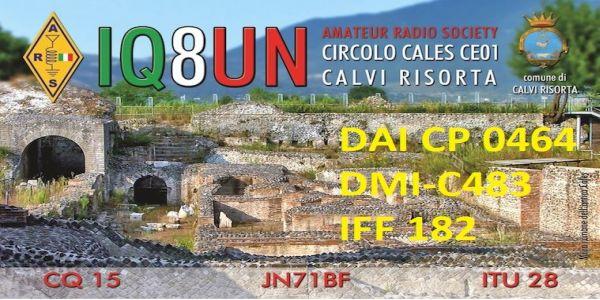 IQ8UN/P on air da Sessa Aurunca