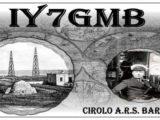 IY7GMB per il 1° contatto commerciale