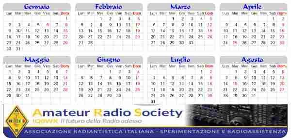 Un calendario per gli amici ARS Italia