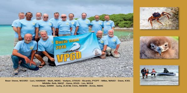 VP6D Ducie… QSL odlietajúce!!!