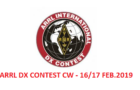 ARRL DX Contest CW: 16-17 February p.v.