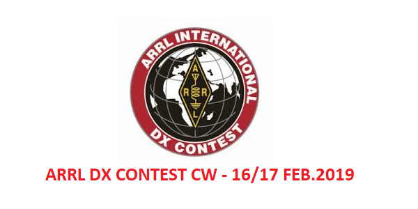 ARRL DX Contest CW: 16-17 Februari p.v.