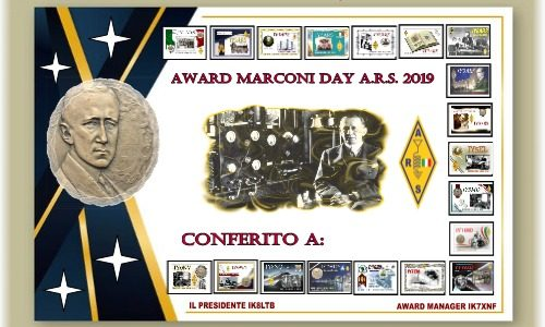 Marconi Award 2019 – Classifica finale provvisoria