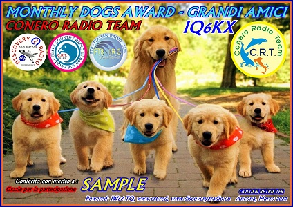 Monthly Dogs Award – Grandi Amici