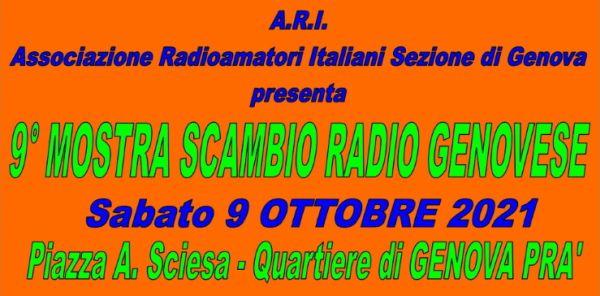 IX edition of the Genoese Radio Exchange Exhibition