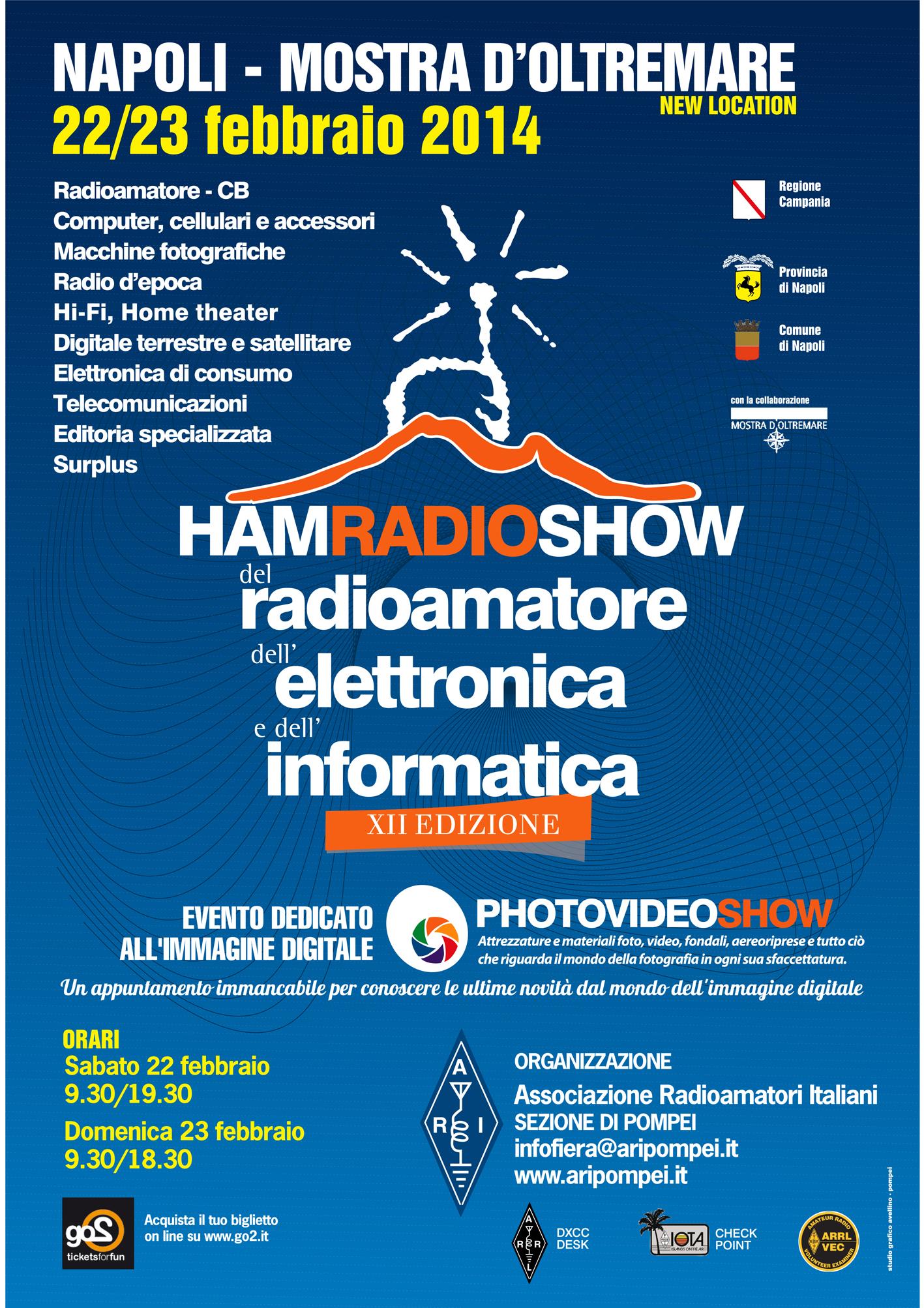 HAM Radio Show – Napoli 22/23 febbraio 2014