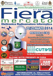Quinta Fiera Mercato a Cosenza: 22-23 Marzo 2014