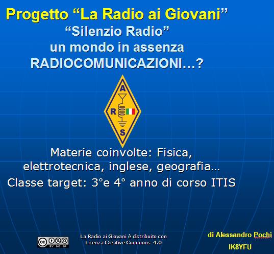 """Progetto """"La Radio ai Giovani"""" all'avvio"""