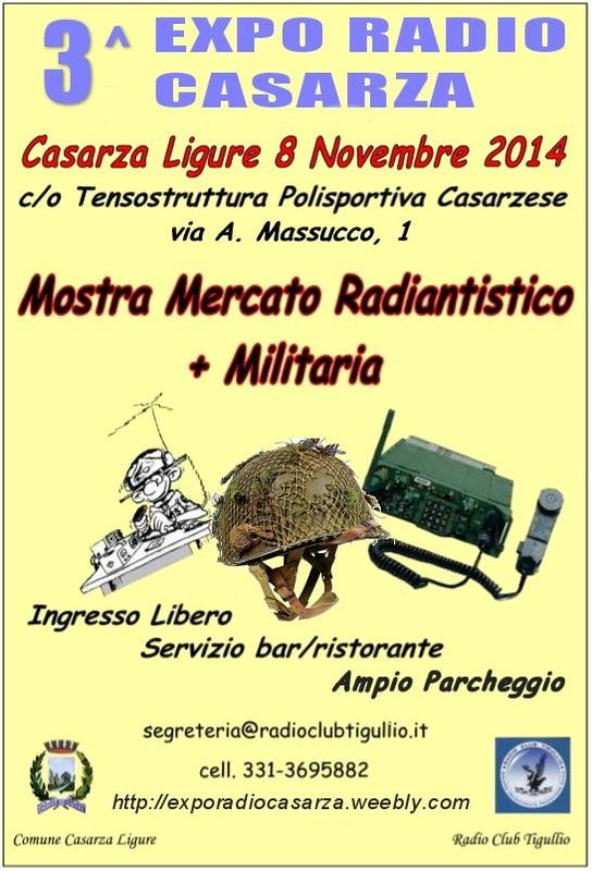 A.R.S. Italia presente in fiera Casarza Ligure