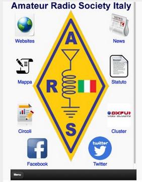 App Amateur Radio Society per Android