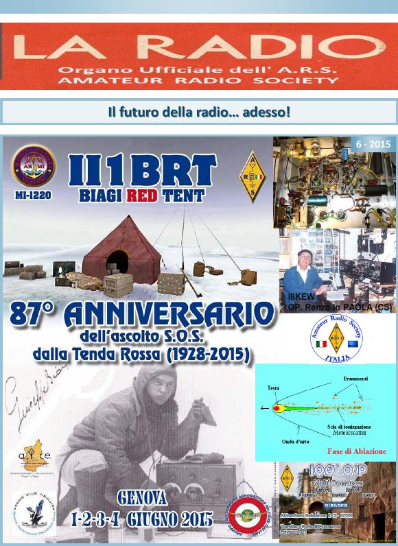 La Radio 6-2015 è online
