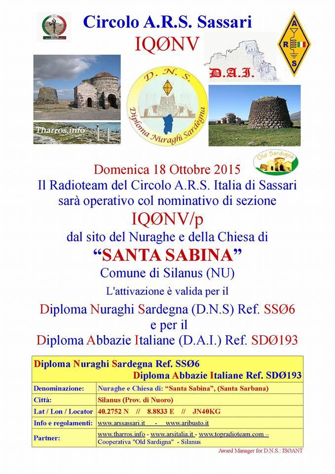IQ0NV/p On Air dal sito di Santa Sabina (NOT)